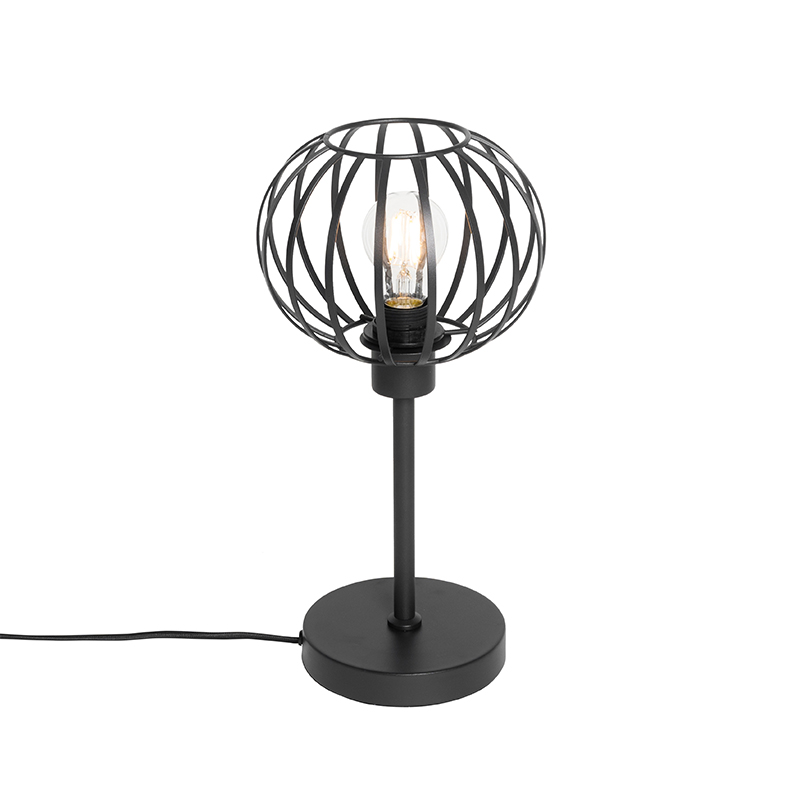Design tafellamp zwart - Johanna