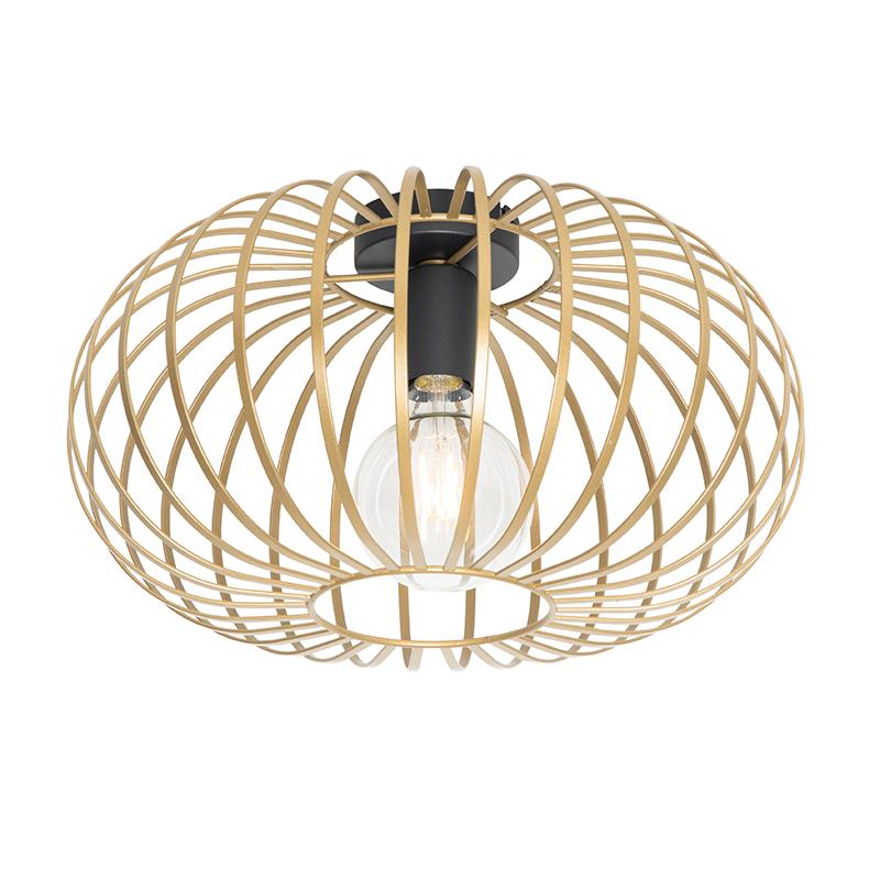 Design plafondlamp goud 39 cm - Johanna