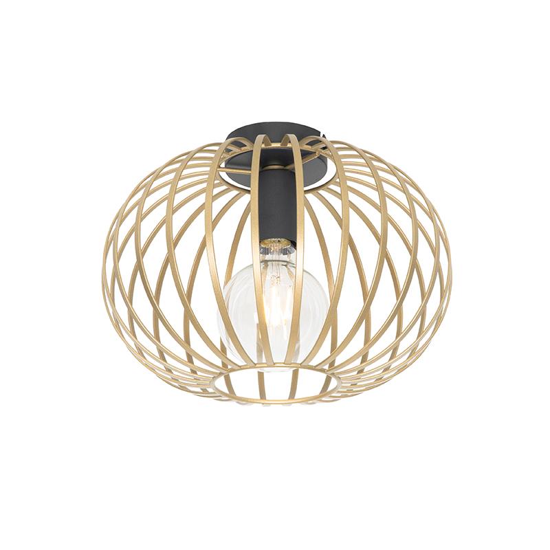 Design plafondlamp messing 30 cm - Johanna