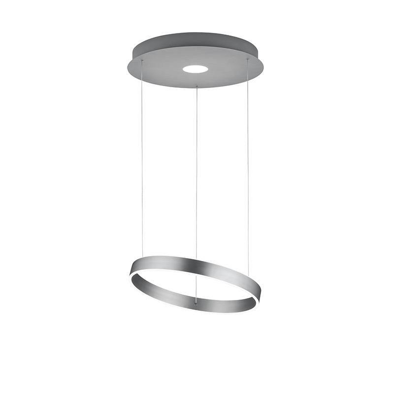 Design hanglamp staal incl. LED 3-staps dimbaar - Jeroen