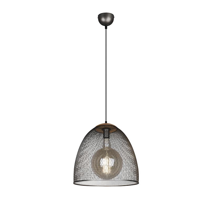 Industriële hanglamp staal - Ravi