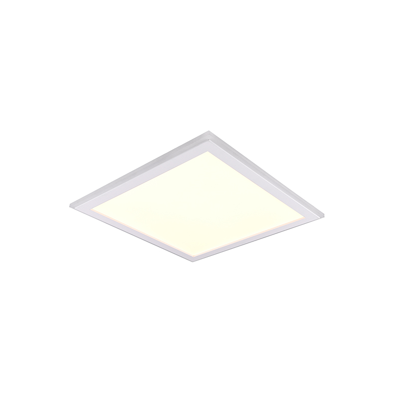 Plafondlamp wit 45 cm incl. LED RGB afstandsbediening - Anke