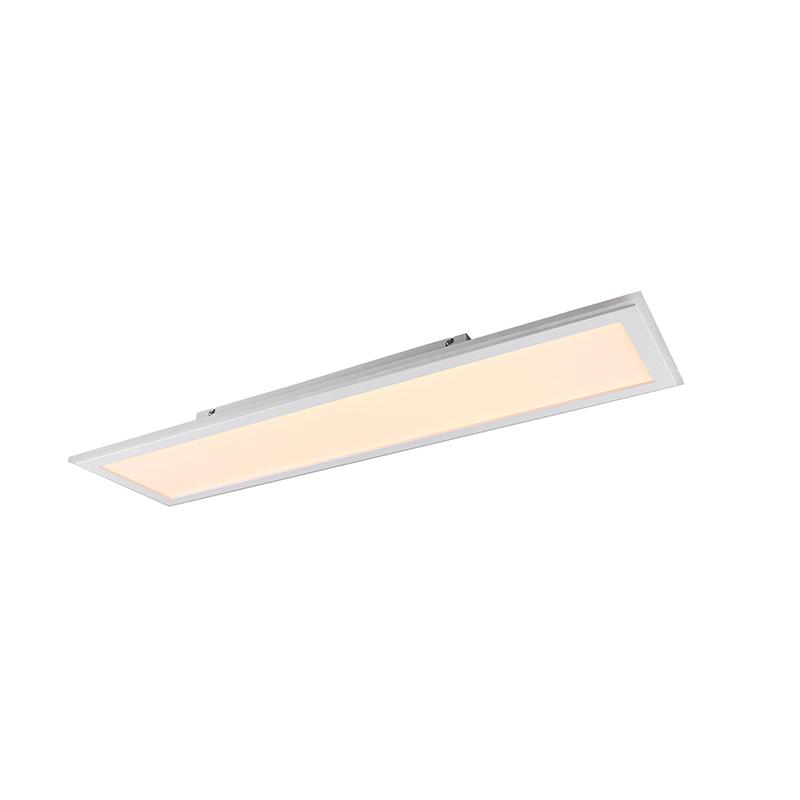 Plafondlamp wit 100 cm incl. LED RGB afstandsbediening - Anke