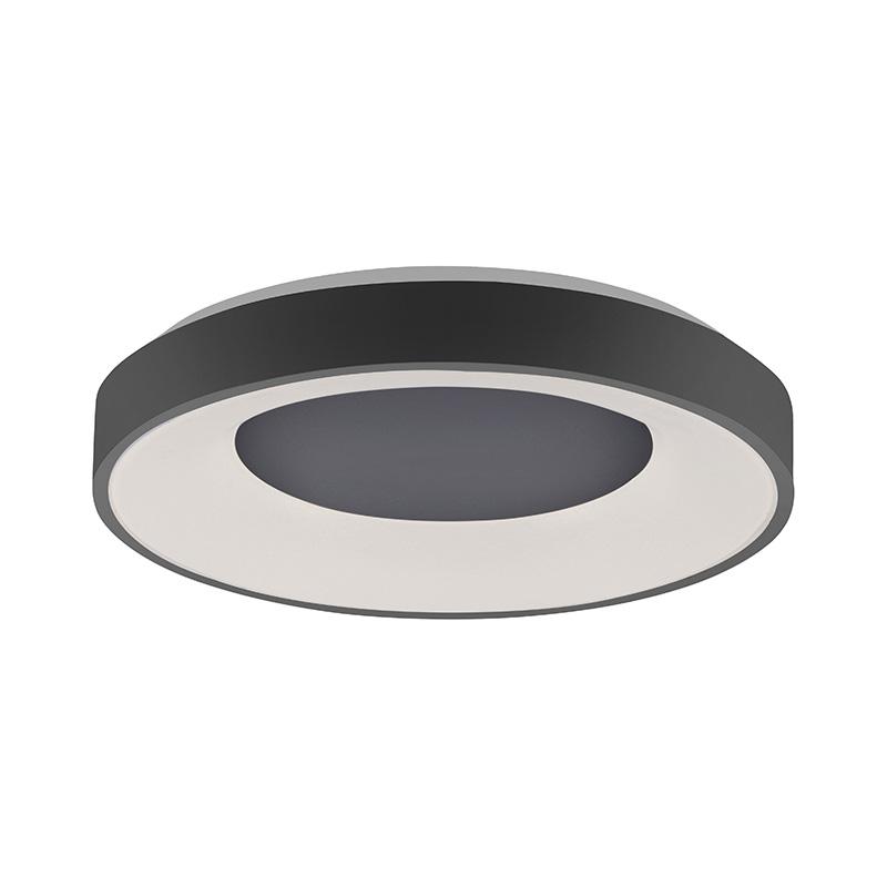 Plafondlamp zwart incl. LED 2700 - 5000k - Steffie