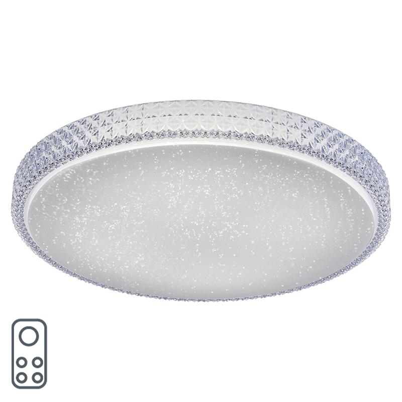 Moderne plafondlamp wit incl. LED 3000 - 5000K - Estrela