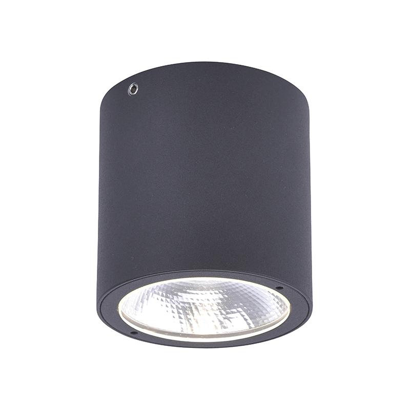Spot grijs rond incl. LED IP54 - Domi