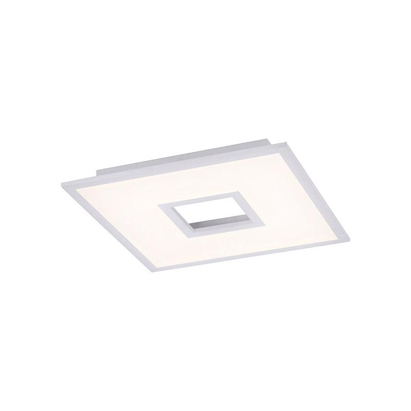 Design plafonnière wit RGB incl. LED 45 cm - Tile
