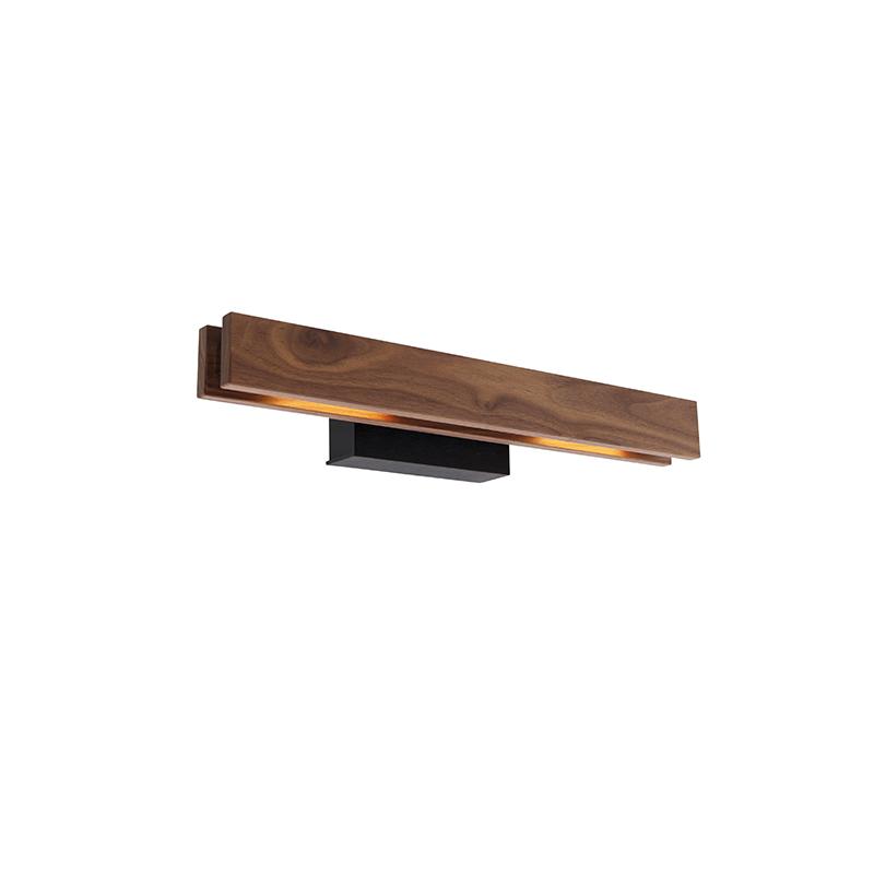 Landelijke wandlamp hout incl. LED - Holz