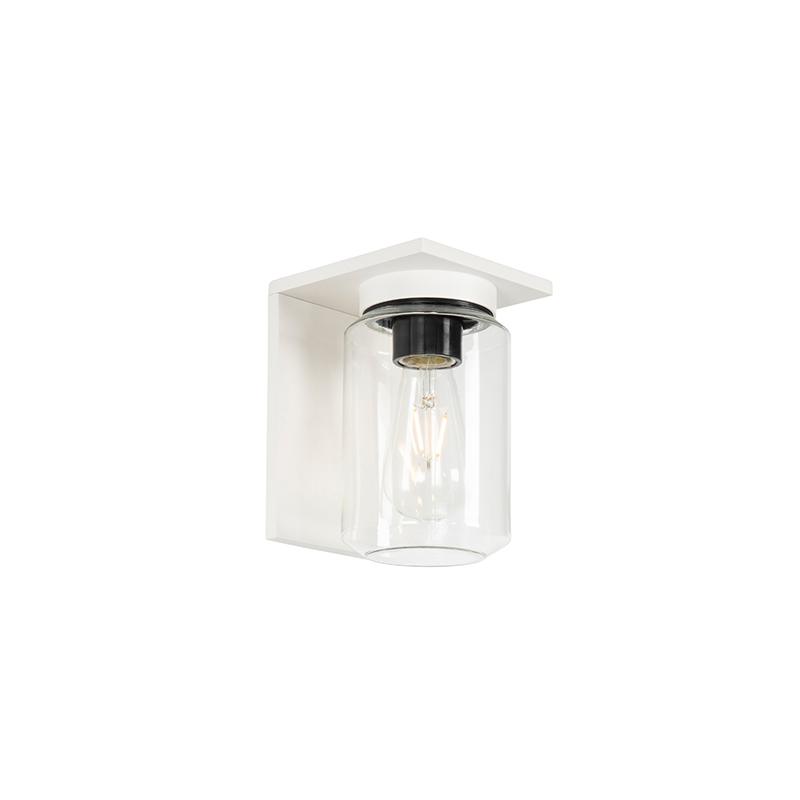 Moderne wandlamp wit IP54 - Marshall