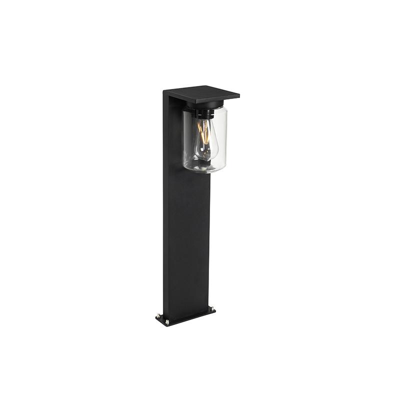 Moderne staande buitenlamp zwart 65 cm IP54 - Marshall