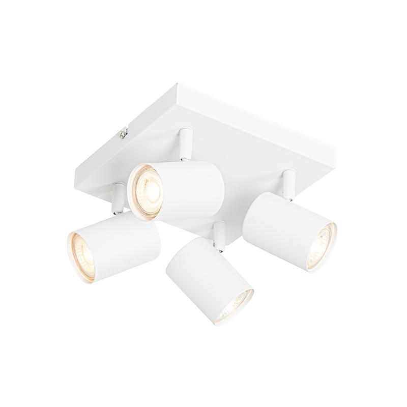 Moderne plafondlamp wit 4-lichts verstelbaar - Jeana