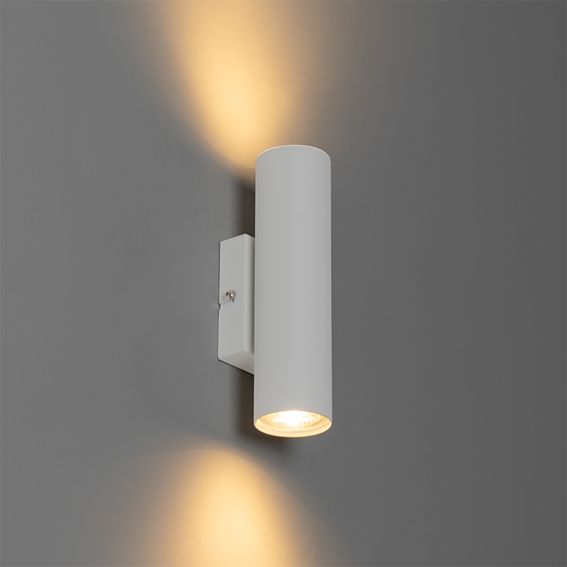 Moderne wandlamp wit 2-lichts - Jeana