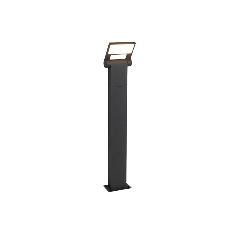 Moderne buitenpaaltje antraciet 60 cm incl. LED IP54 - Zane