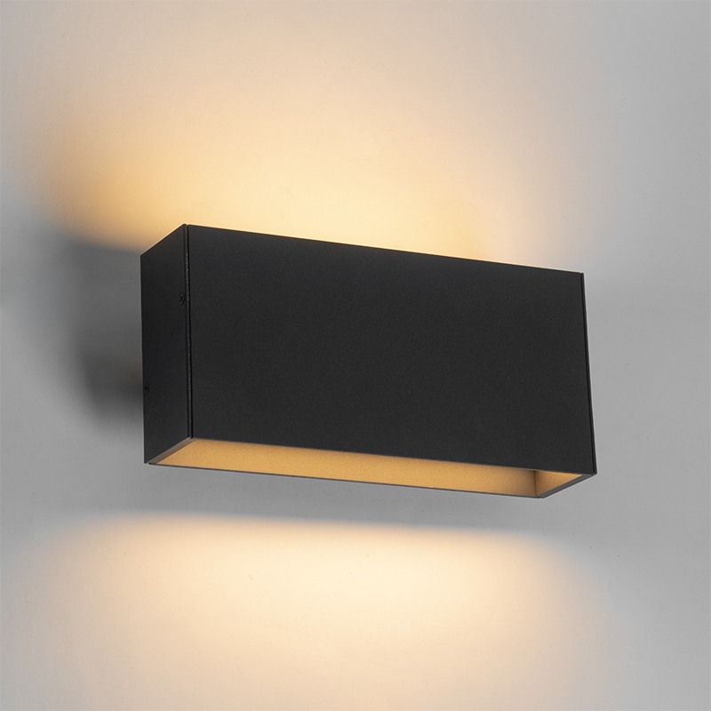 Moderne wandlamp antraciet incl. LED IP54 - Spector