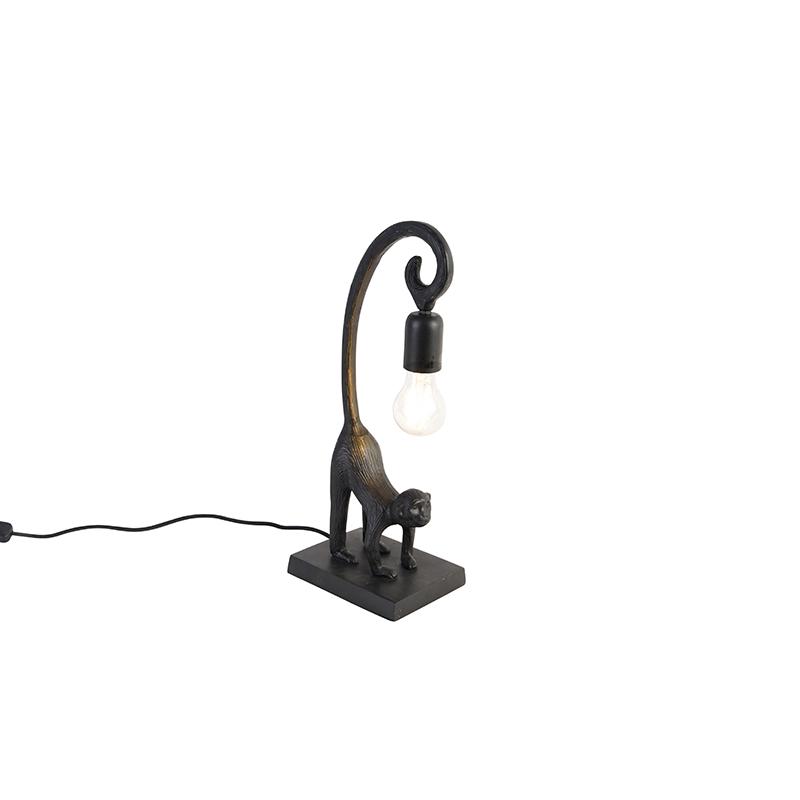 Vintage tafellamp zwart - Aap Hale