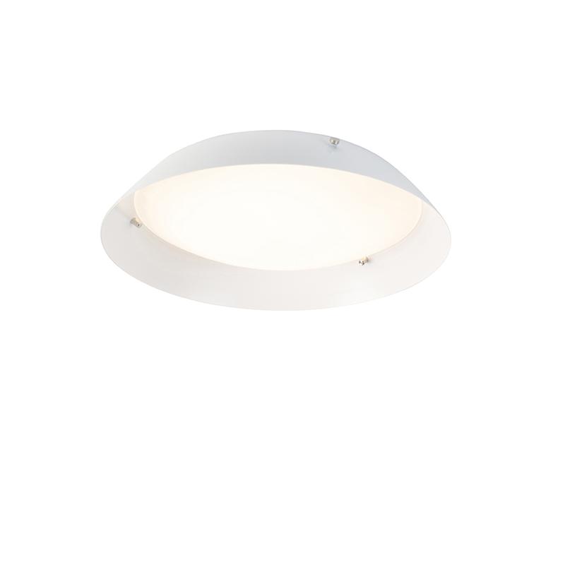 Moderne plafondlamp wit 30 cm incl. LED - Bjorn