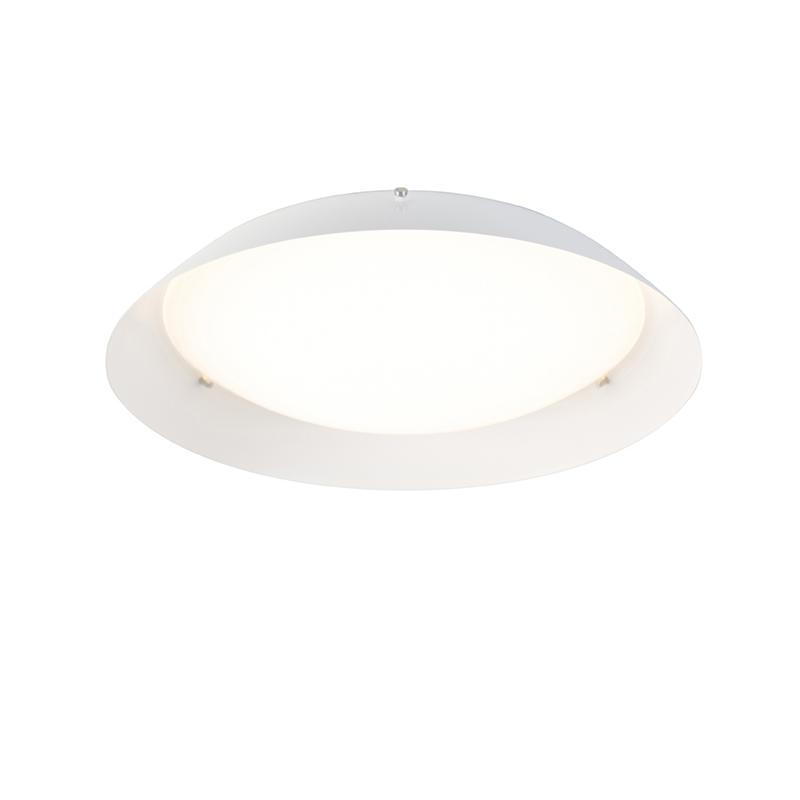 Moderne plafondlamp wit 38 cm incl. LED - Bjorn