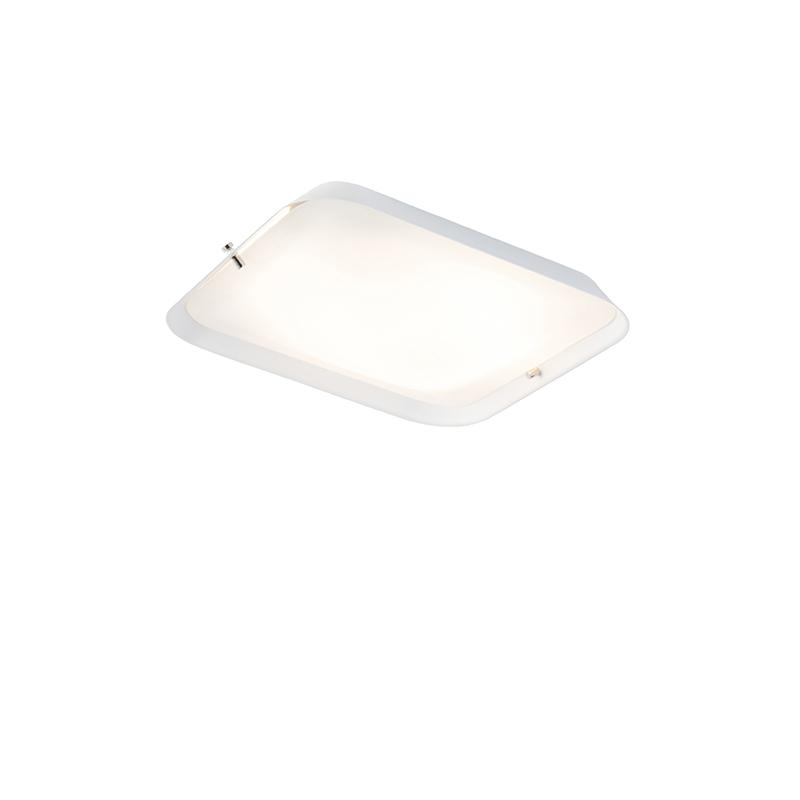 Moderne plafondlamp wit 24,5 cm incl. LED - Edor