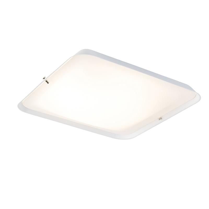 Moderne plafondlamp wit 34,5 cm incl. LED - Edor