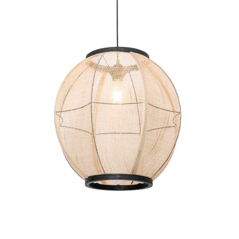 Oosterse hanglamp bruin 46 cm - Rob