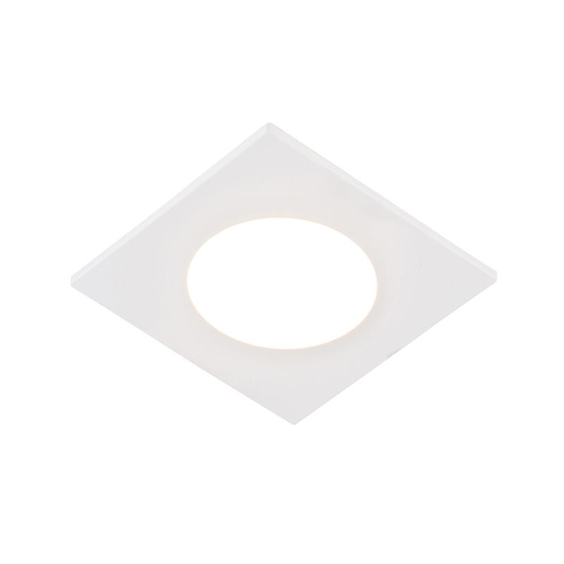 Set van 6 inbouwspots wit incl. LED 3-staps dimbaar IP65 - Simply
