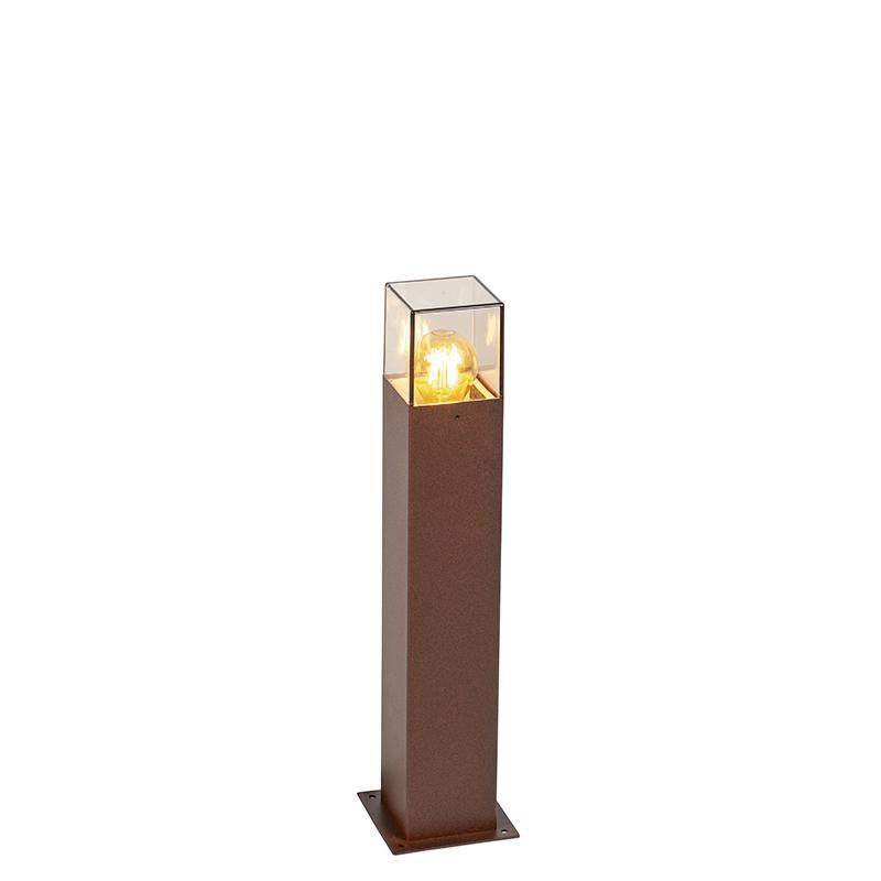 Smart staande buitenlamp roestbruin 50 cm incl. Wifi A60 - Denmark