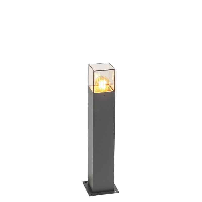 Smart staande buitenlamp antraciet 50 cm incl. Wifi A60 - Denmark