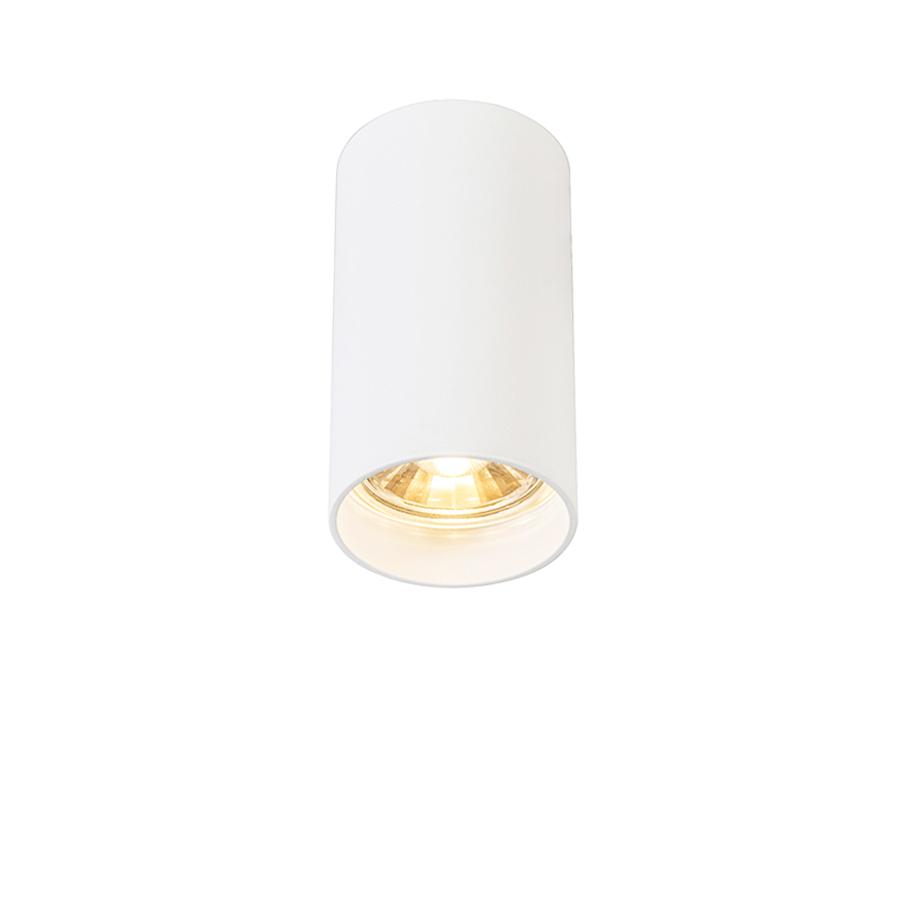 Smart moderne spot wit incl. WiFi GU10 lichtbron - Tuba
