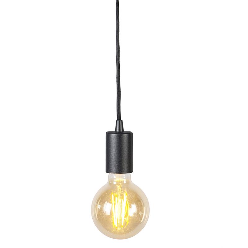 Smart hanglamp zwart incl. wifi G95 lichtbron - Facil