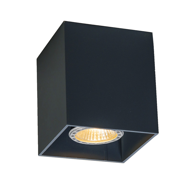 Smart spot zwart incl. wifi GU10 - Qubo