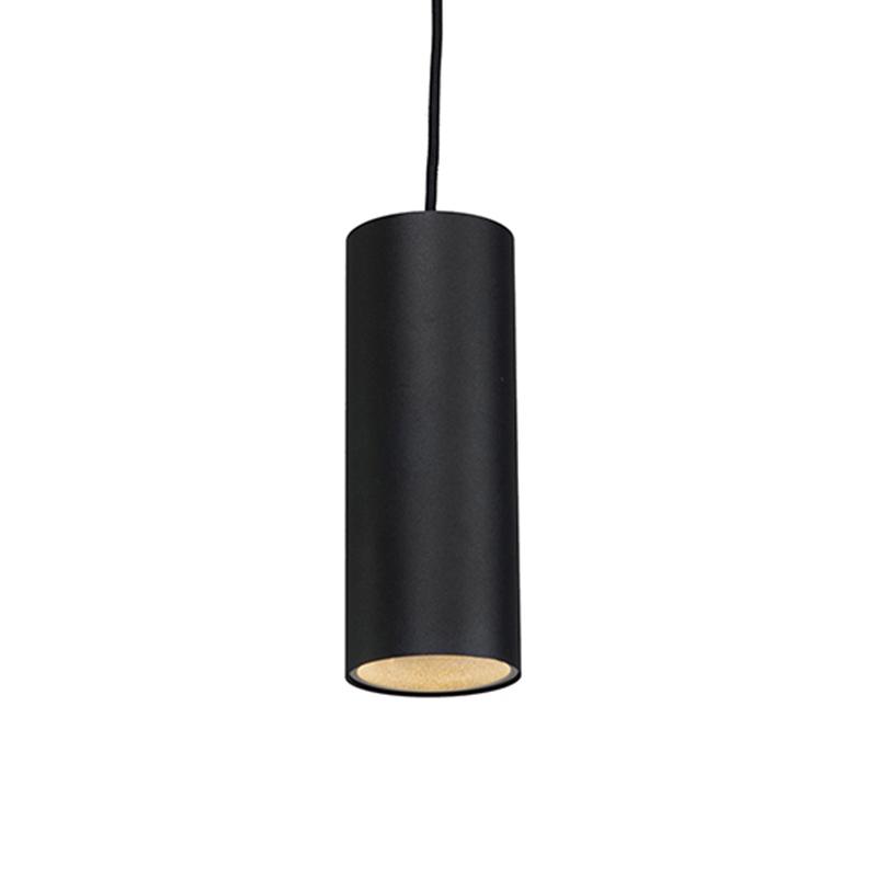 Smart hanglamp zwart incl. WiFi GU10 - Tubo
