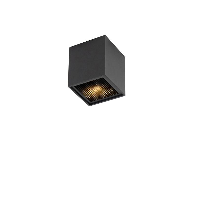 Smart design spot zwart incl. WiFi GU10 - Qubo Honey
