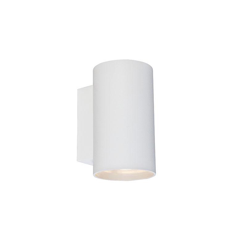 Smart wandlamp rond wit incl. wifi GU10 - Sandy