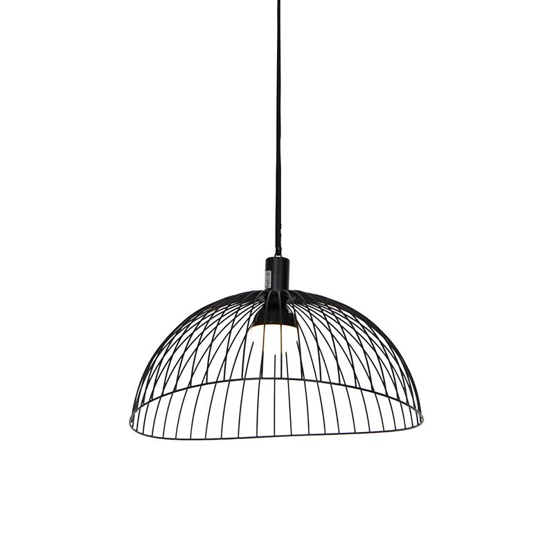 Buiten plafondlamp zwart IP44 incl. led oplaadbaar RGBW - Pua