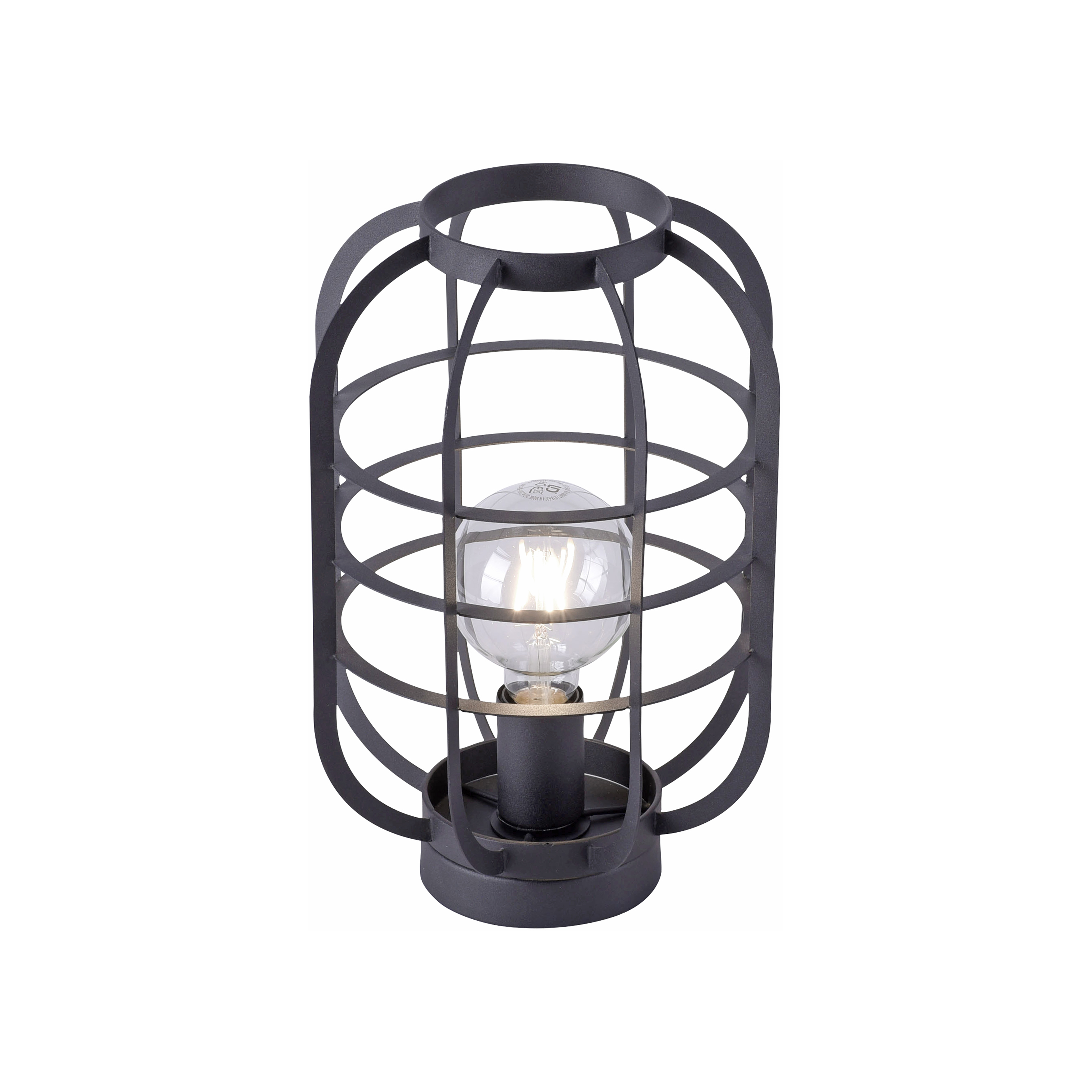 Moderne tafellamp zwart - Zodiac
