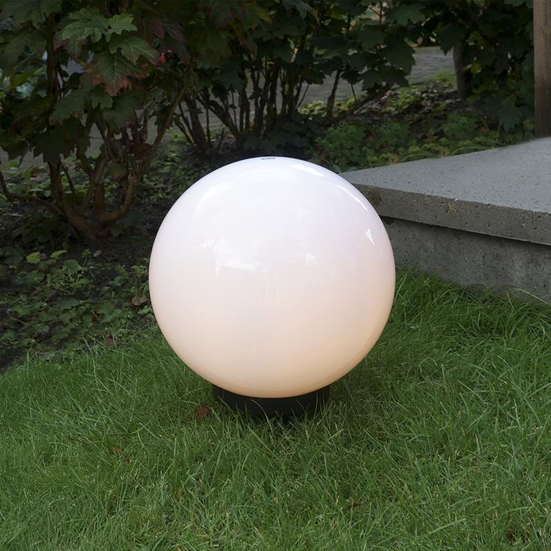 Kugelleuchte 30 cm | Lampen > Tischleuchten > Kugelleuchten | Weiß | Kunststoff | QAZQA