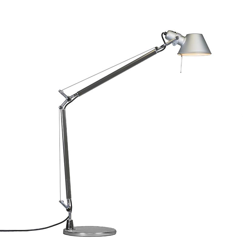 Artemide tafellamp aluminium verstelbaar - Atemide Tolomeo Tavolo