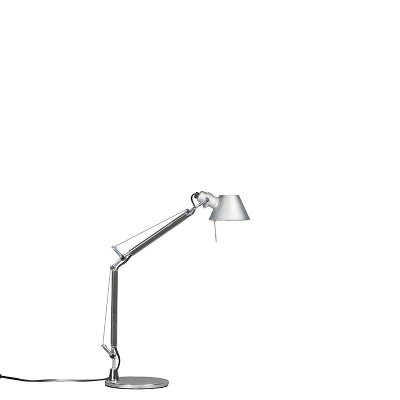 Artemide tafellamp aluminium verstelbaar - Artemide Tolomeo Micro