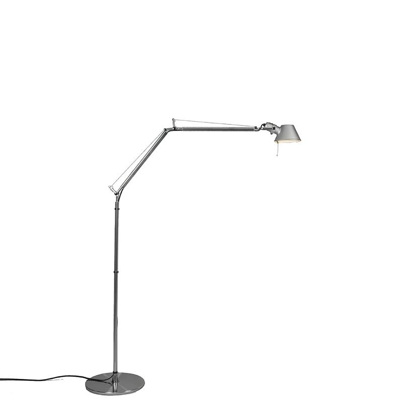 Lampa podłogowa aluminium regulowana - Artemide Tolomeo Terra