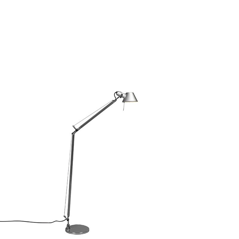 Artemide vloerlamp aluminium verstelbaar - Artemide Tolomeo Lettura