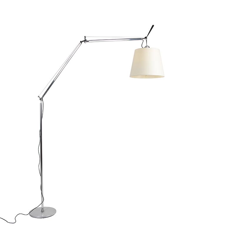 Lampa podłogowa aluminium - Artemide Tolomeo Mega Terra