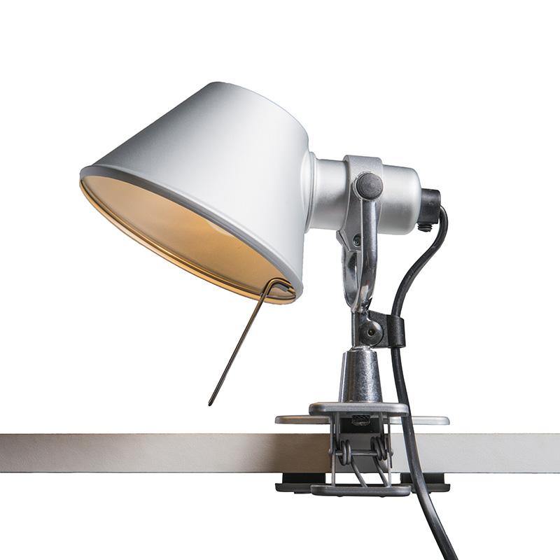 Artemide tafellamp verstelbaar - Artemide Tolomeo micro pinza