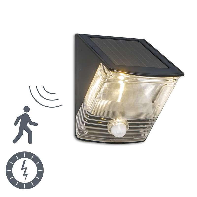 Buitenlamp Dark LED met bewegingsmelder op zonne-energie