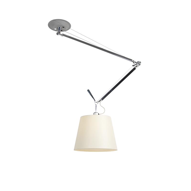 Design hanglamp met kap - Artemide Tolomeo Sospensione Decentrata