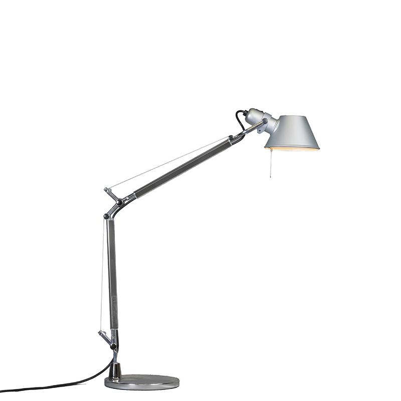Lampa stołowa aluminium regulowana - Artemide Tolomeo Tavolo Mini