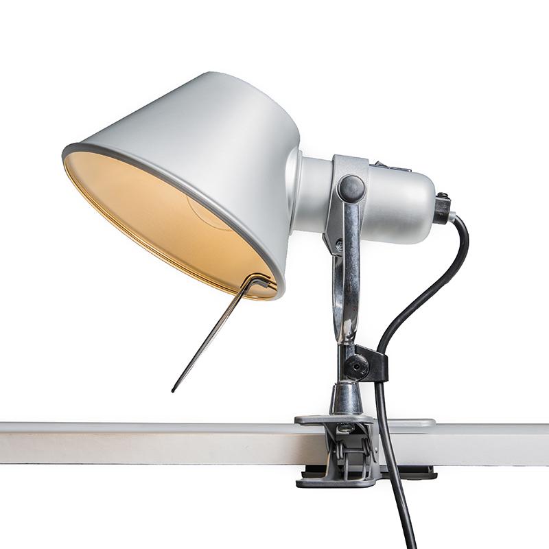 Artemide tafellamp verstelbaar - Artemide Tolomeo Pinza