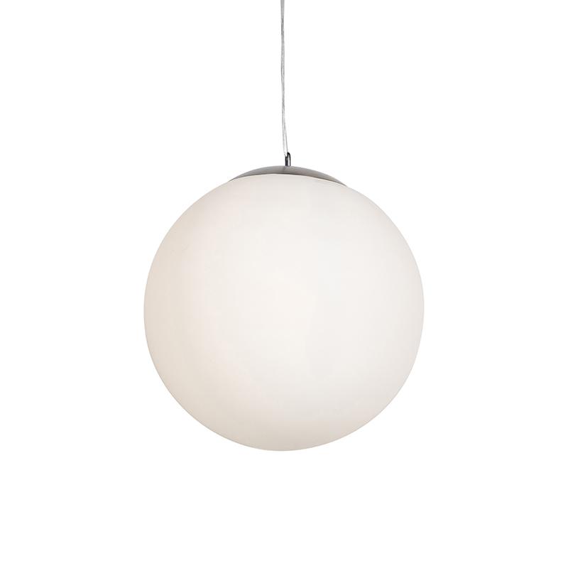 Moderne hanglamp glas 50cm - Ball