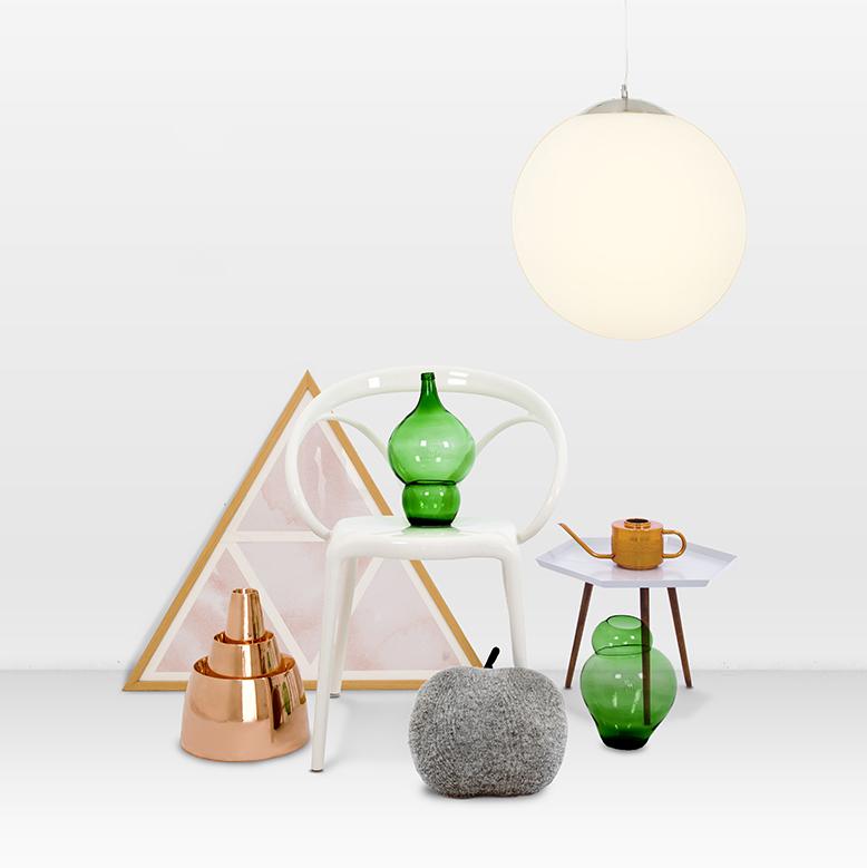 Moderne Hanglamp Glas 40cm - Ball