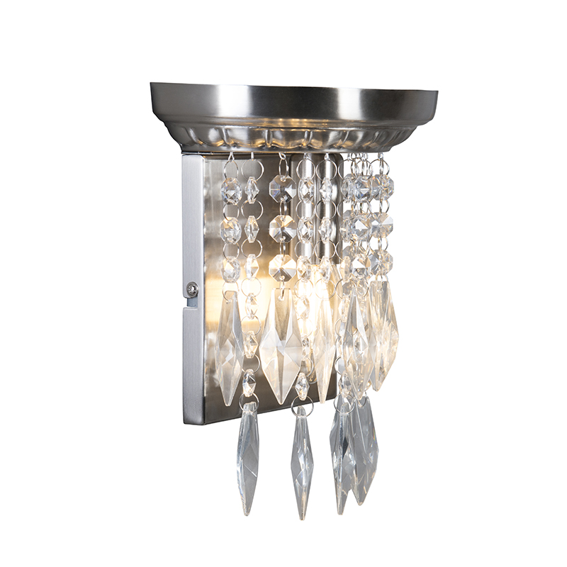 Wandlamp Jelly staal