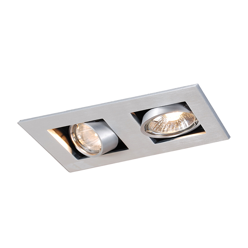 Inbouwspot aluminium - Qure 2